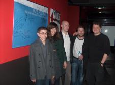//Max Klub Festival, Slovenia, 2012// Vid Jamnik, Mb, Adam Klemm, Nikola Matošić, Dušan Novakov